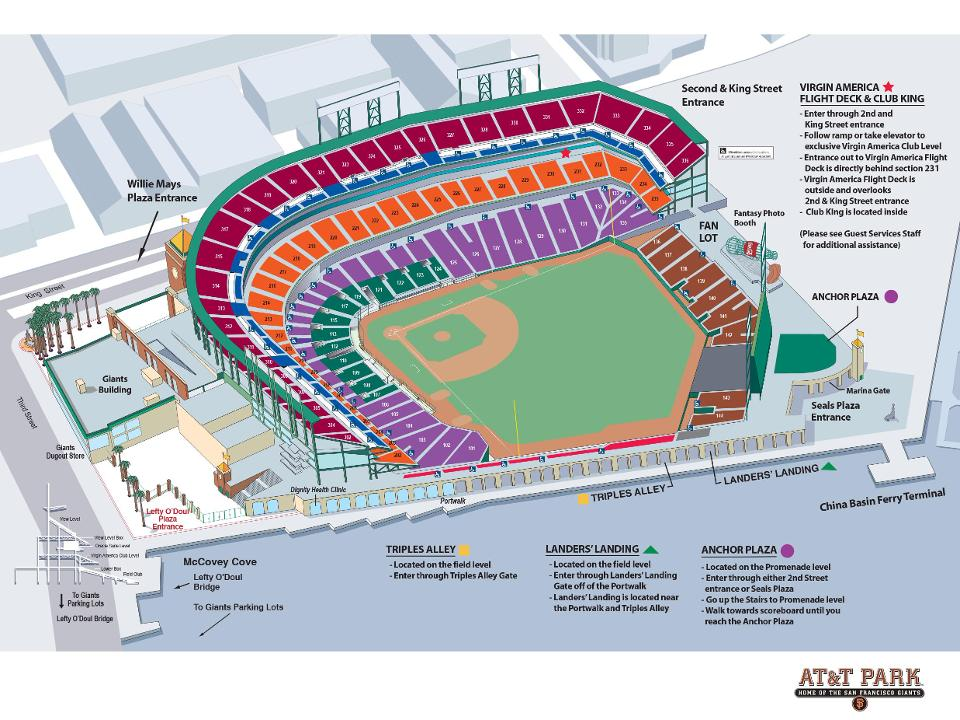 Sf Giants Stadium 3d Seating Chart Sf giants seat map my blog