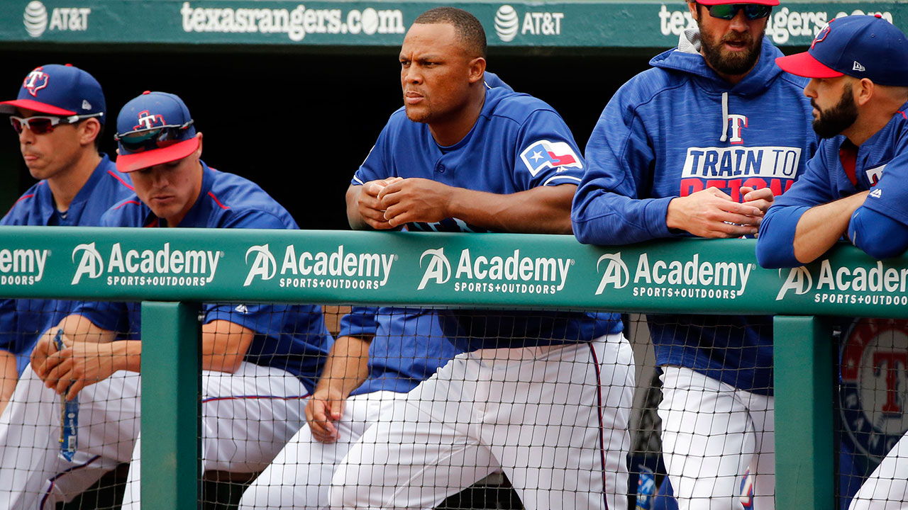 Rangers hoping Beltre can return later in May
