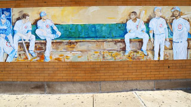 The Mural Is Located Across From Wrigley Field. (Arturo Pardavila/MLB.com) Part 76