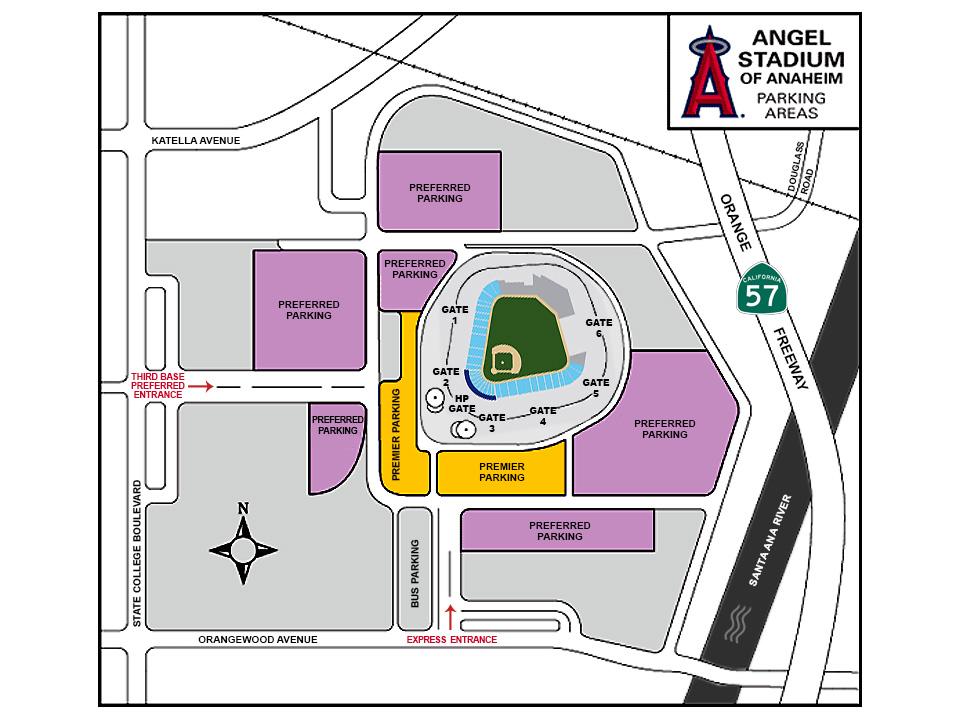 Season Seat Holder Parking Information