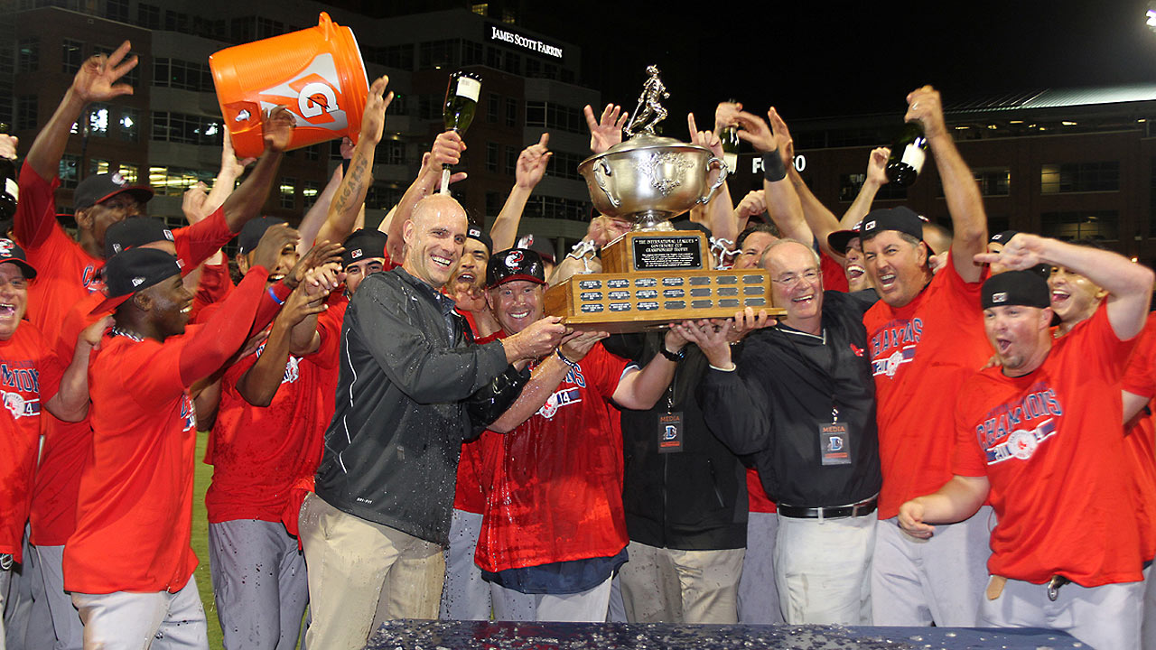 Couch pitches PawSox to Governors' Cup title
