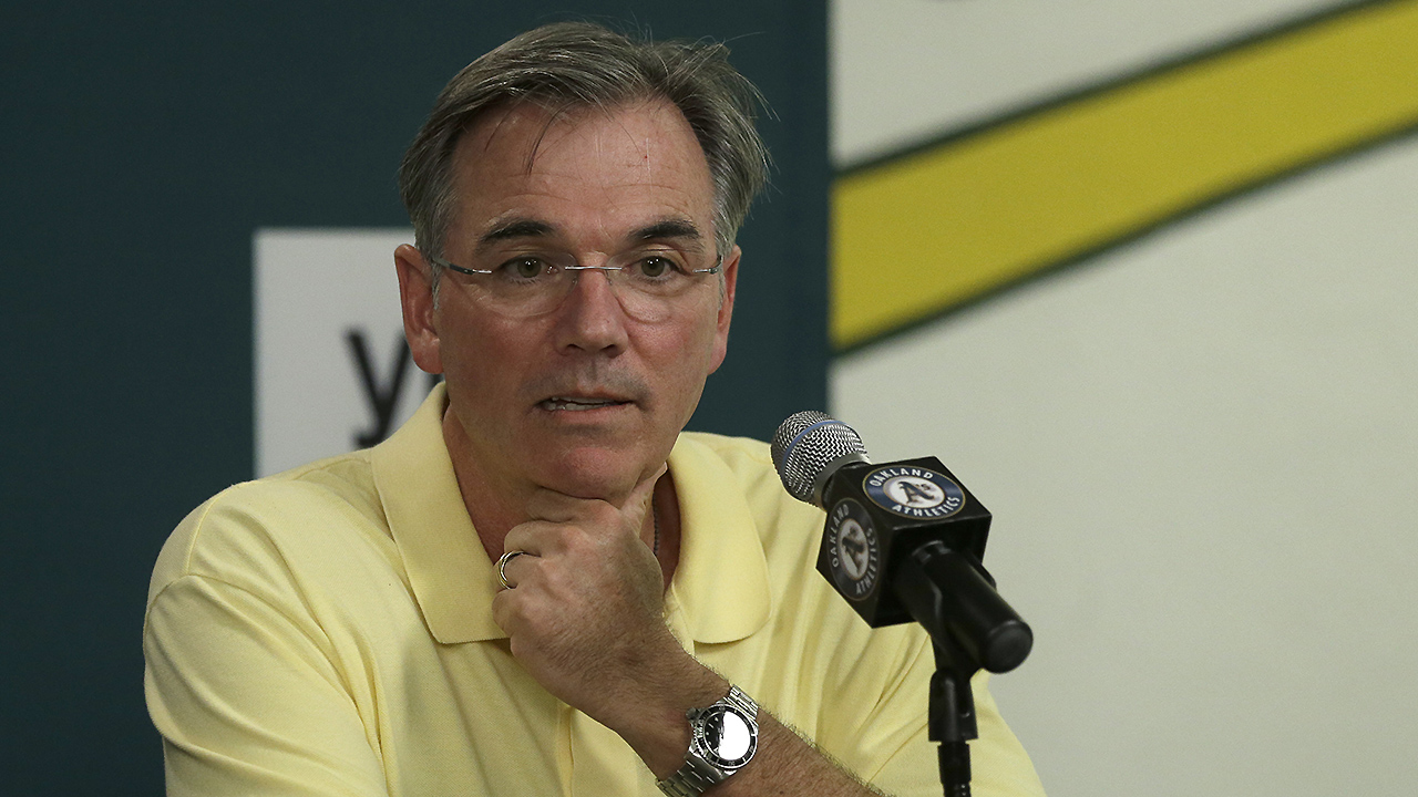 A's promote Beane, name Forst new GM