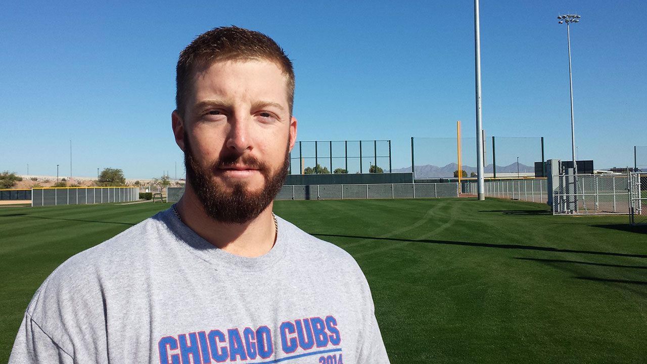 Cubs Minor Leaguer works on earning new set of stripes