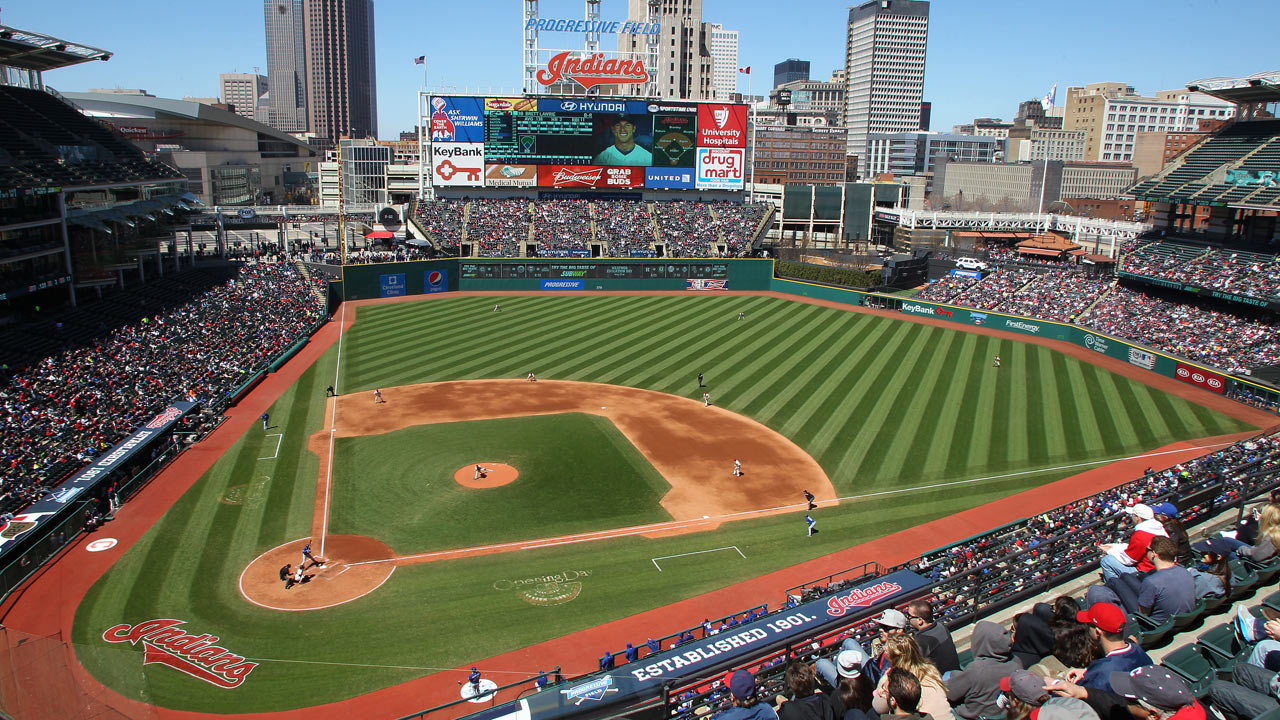 Progressive Field hosts Pitch, Hit & Run competition