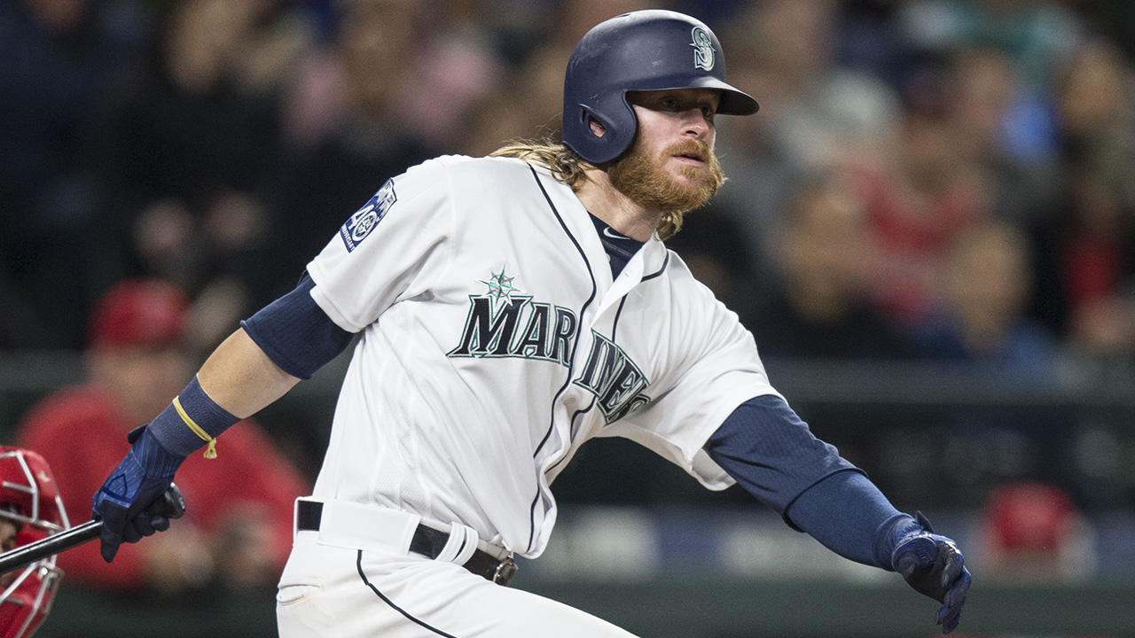 Mariners' Ben Gamel steps in for Mitch Haniger   MLB.com