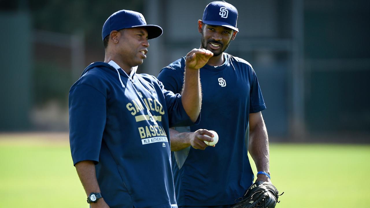 New first-base coach Brock thrives as teacher