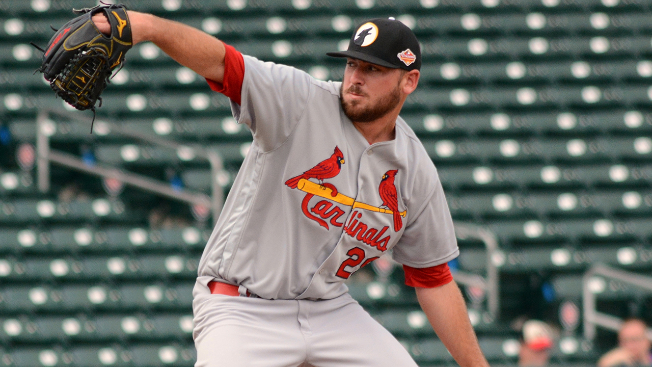 Cards' Gomber named Fall League Pitcher of the Week
