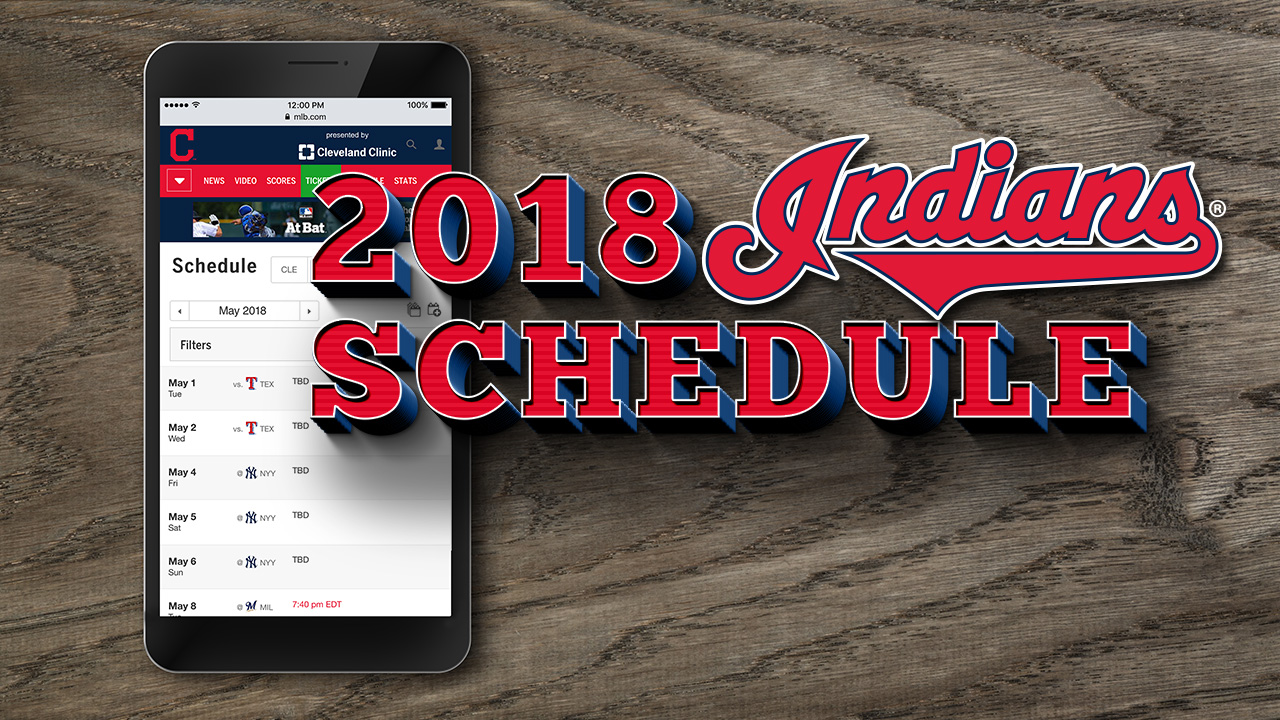 Indians to open 2018 in Seattle on March 29