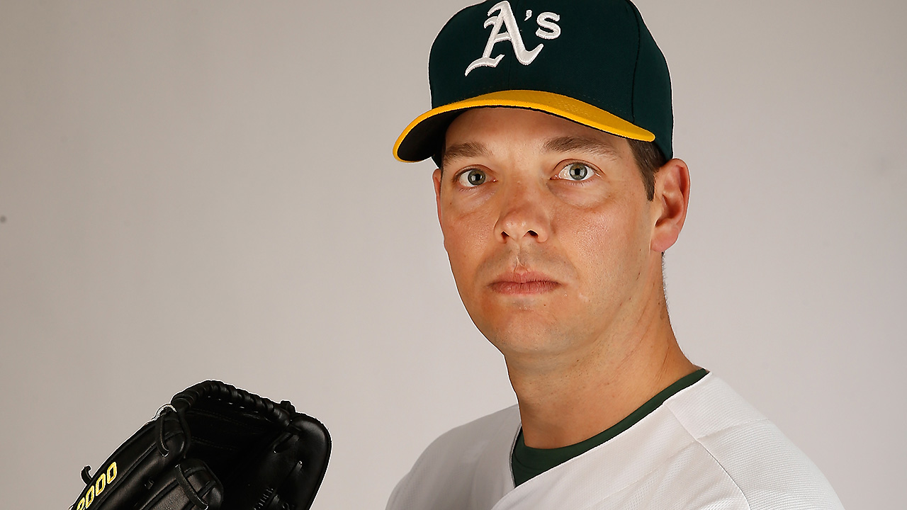 For Hill, a long climb to secure role with A's