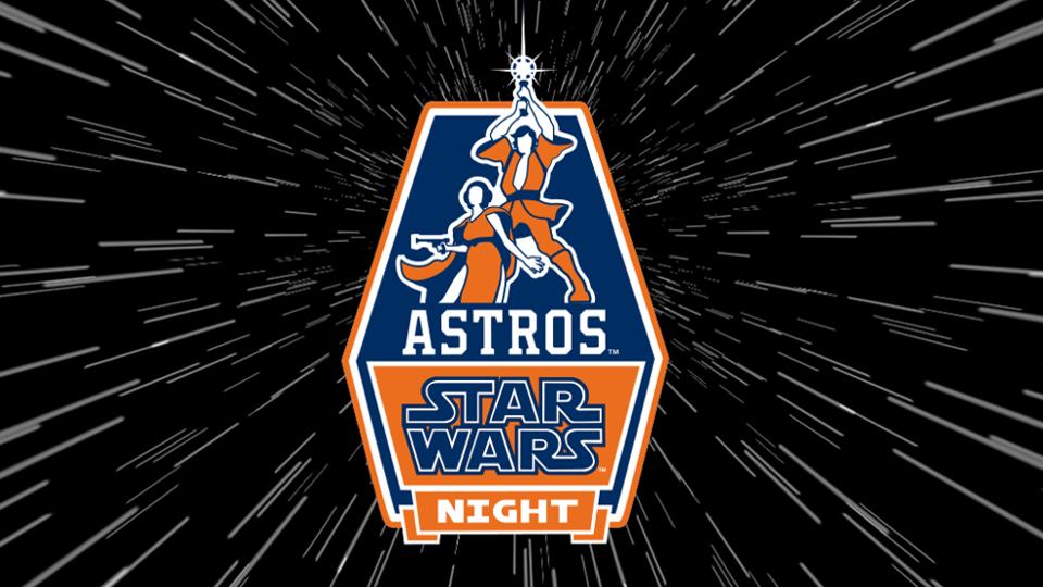 Astros Star Wars Night