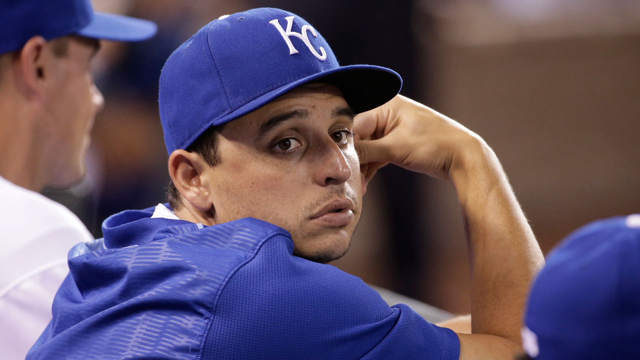 Vargas progressing with sim game for Royals