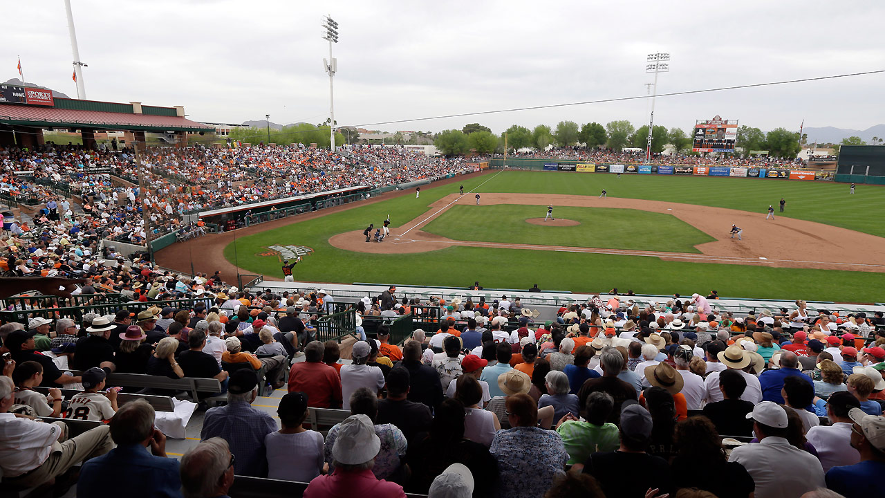 Giants announce Spring Training schedule