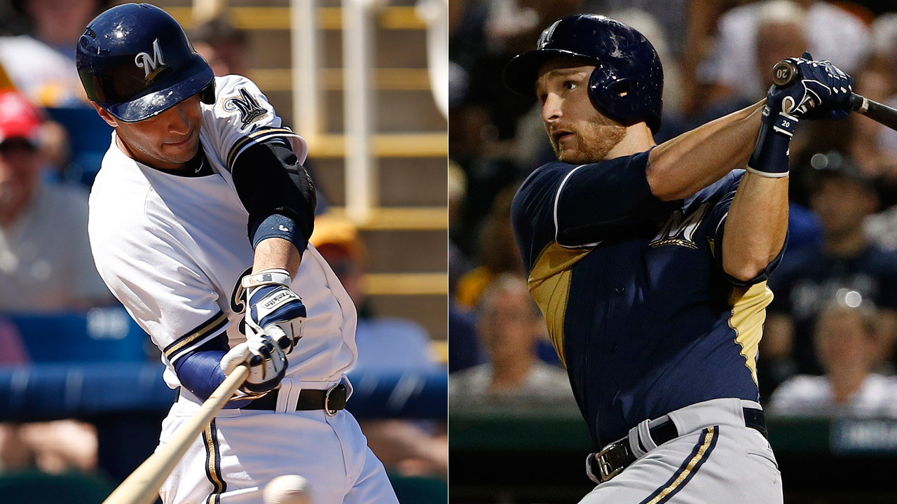 Braun, Lucroy hit back-to-back homers in loss