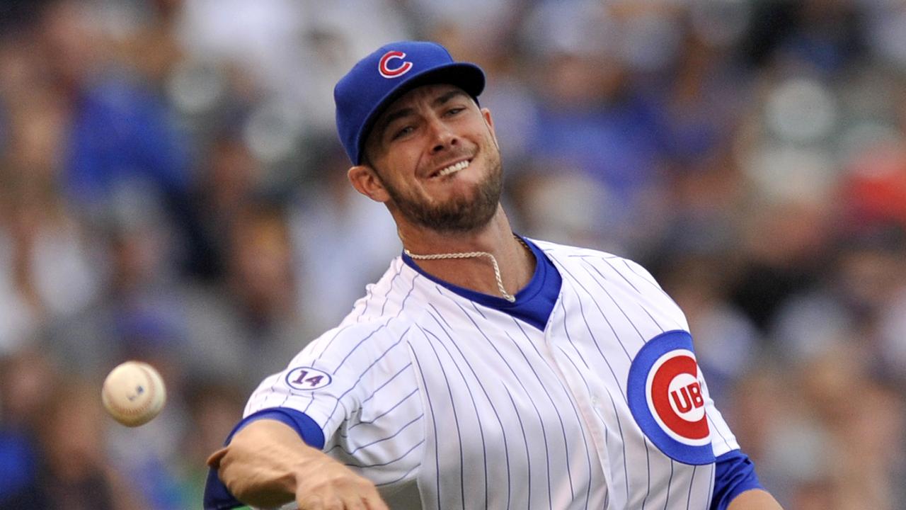 Kris Bryant exits game with flu like symptoms MLB com