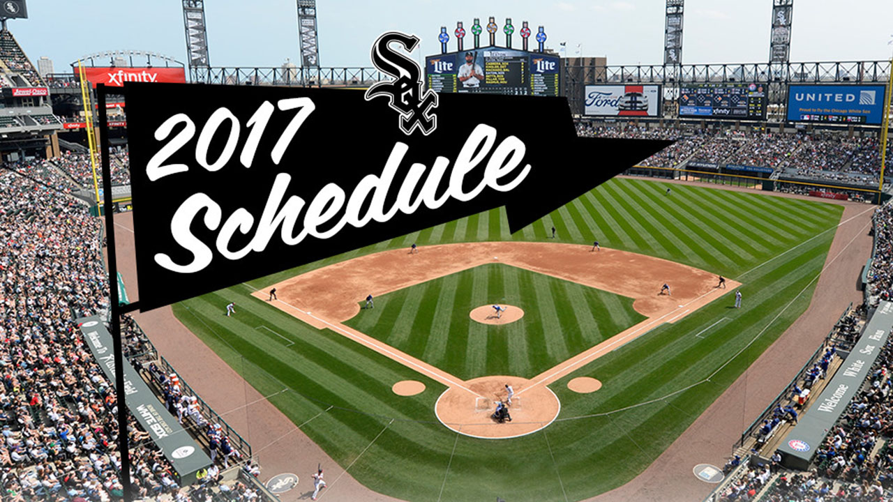 Sox to face AL Central foes early in 2017.