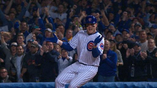 Anthony Rizzo's pumped