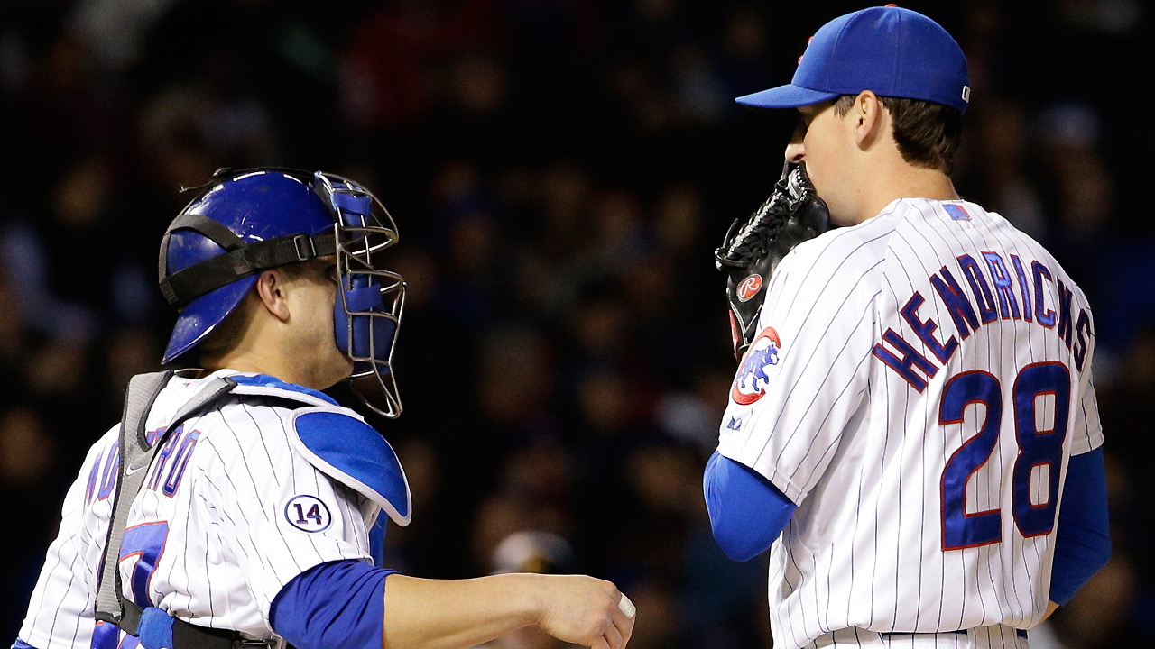 Rough start of little concern to Hendricks, Maddon