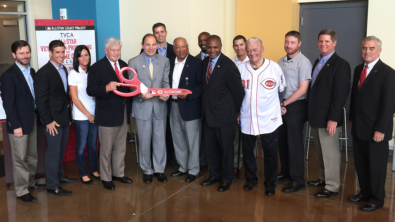MLB, Reds partner to create new veterans center