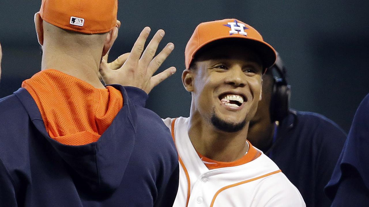 Carlos Gomez loving 'Club Astros' environment | MLB.com