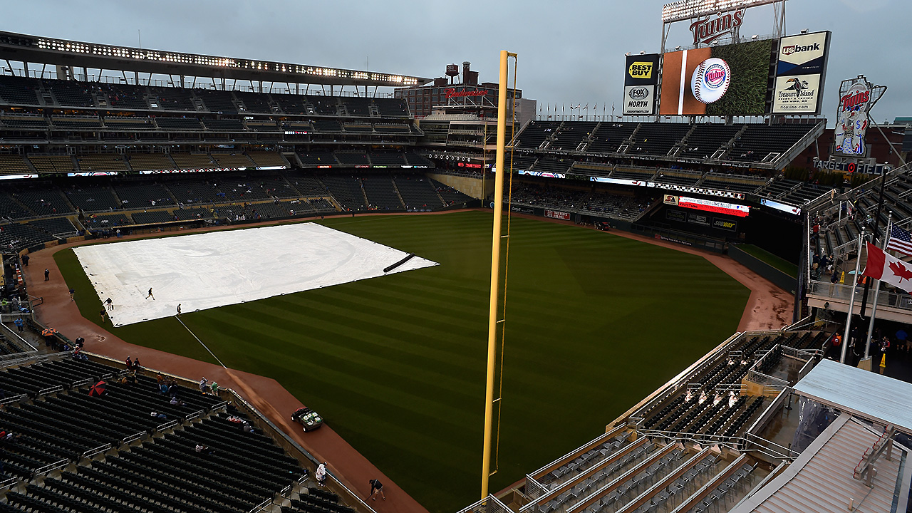 Tigers rained out, enter split DH 1 out of WC