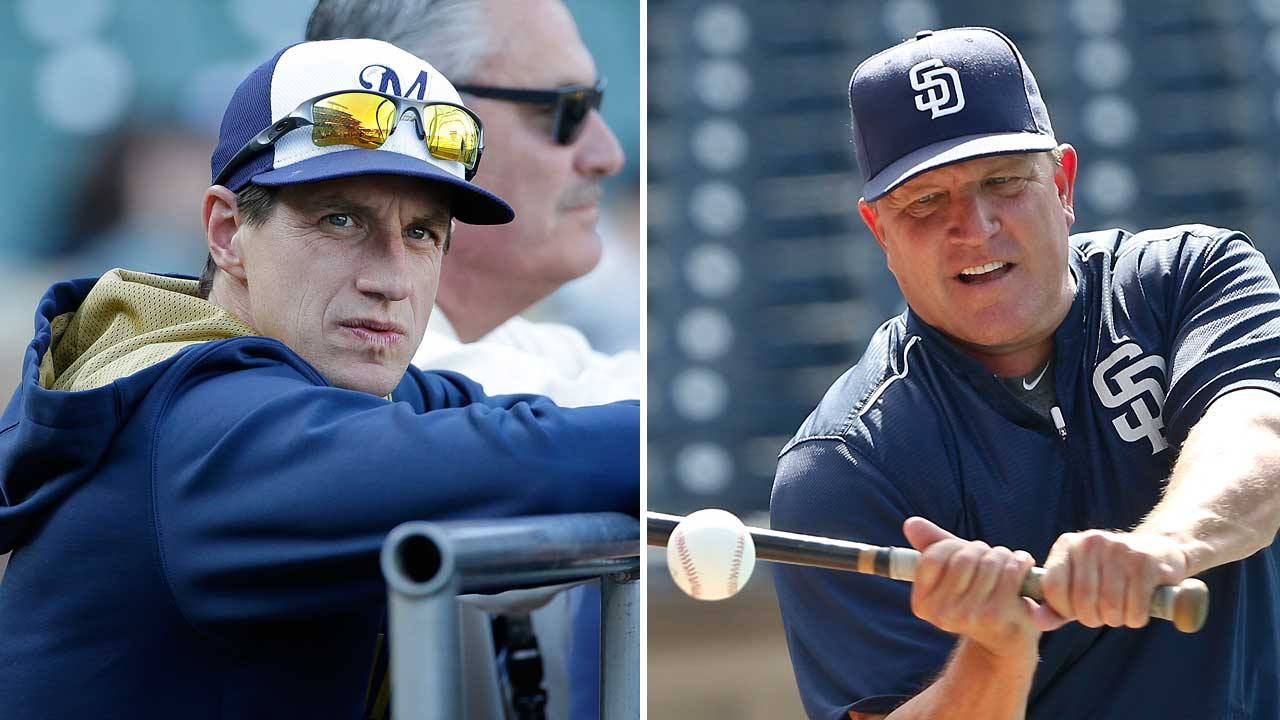 Managers Murphy, Counsell go way back