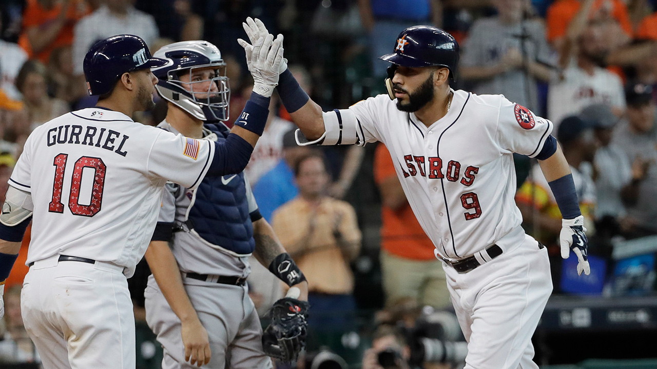 astros beat yankees to secure series win mlb com
