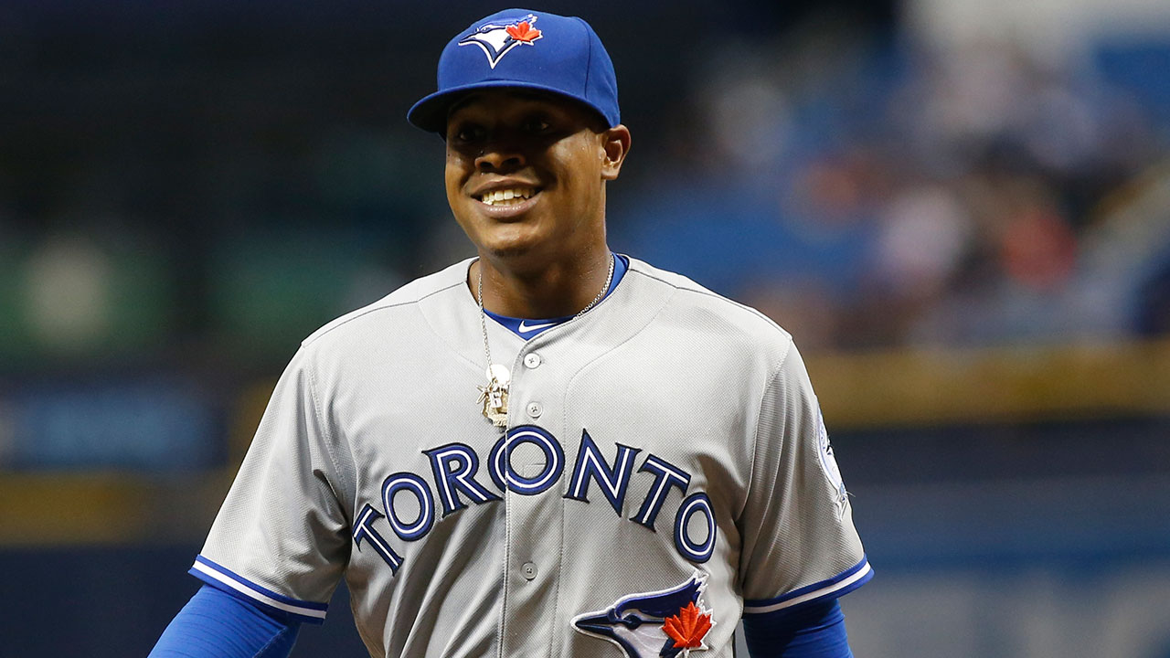 Wearing No. 42 special for Stroman