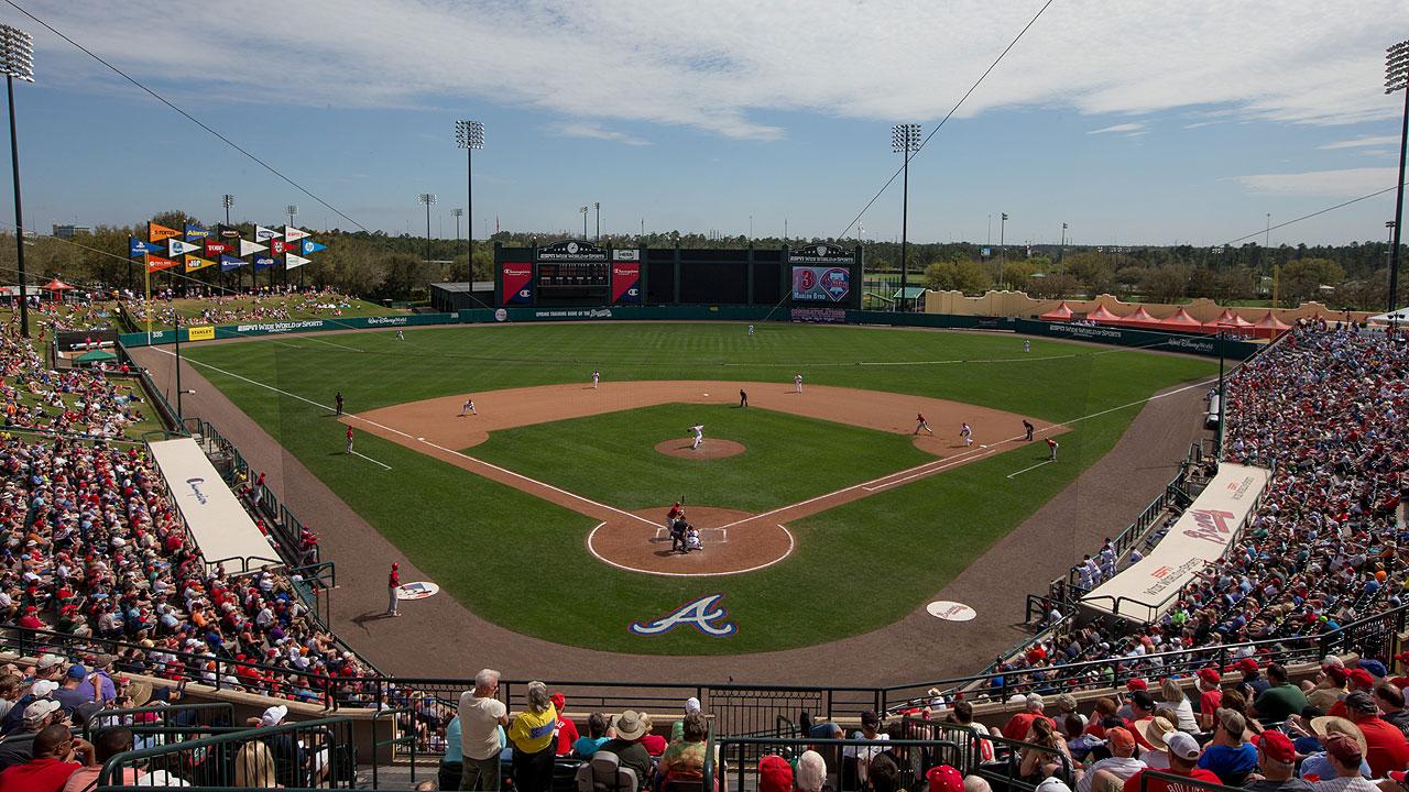 Spring Training Baseball In West Palm Beach