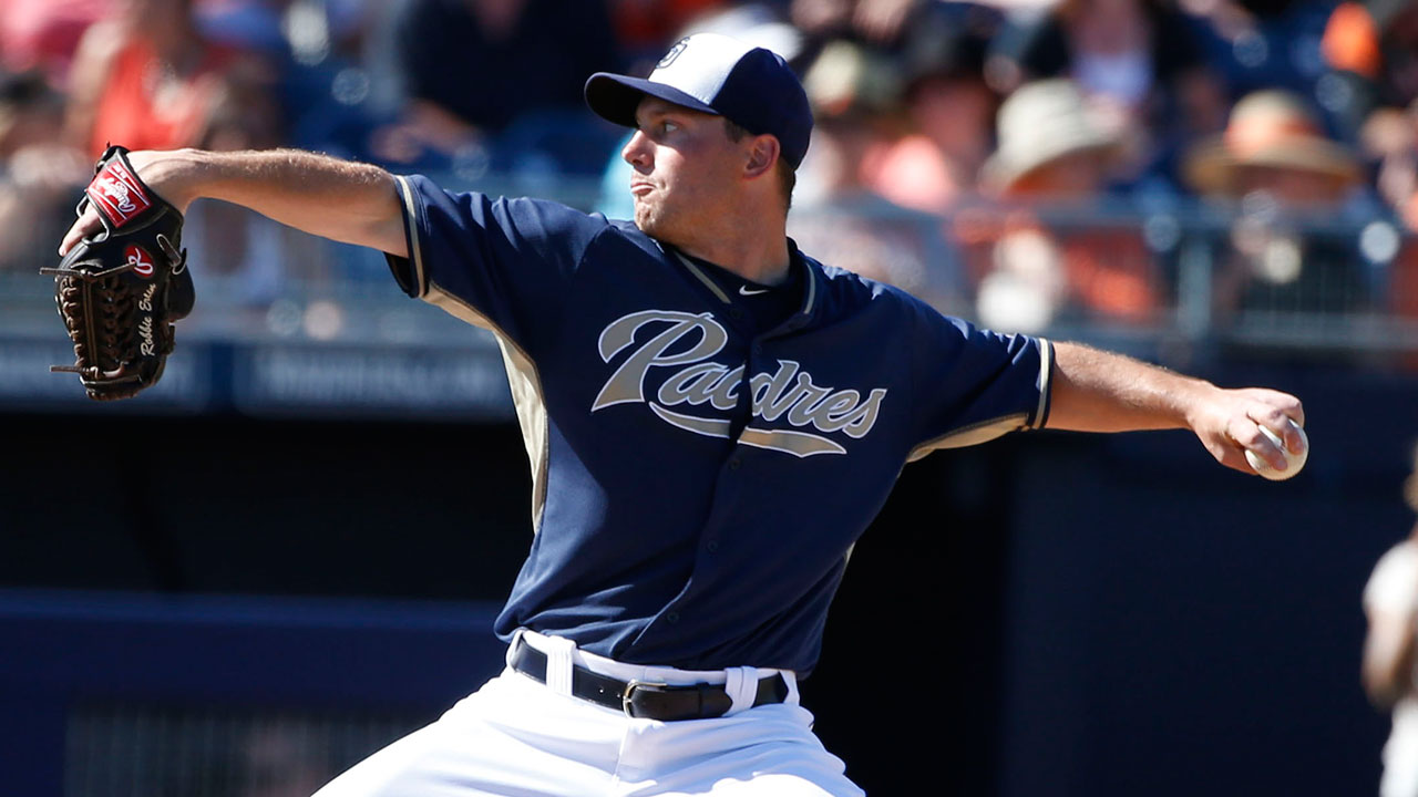 Padres send Erlin, Wisler to Minor League camp