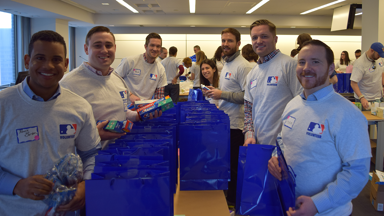 MLB employees pitch in to aid victims of gender violence