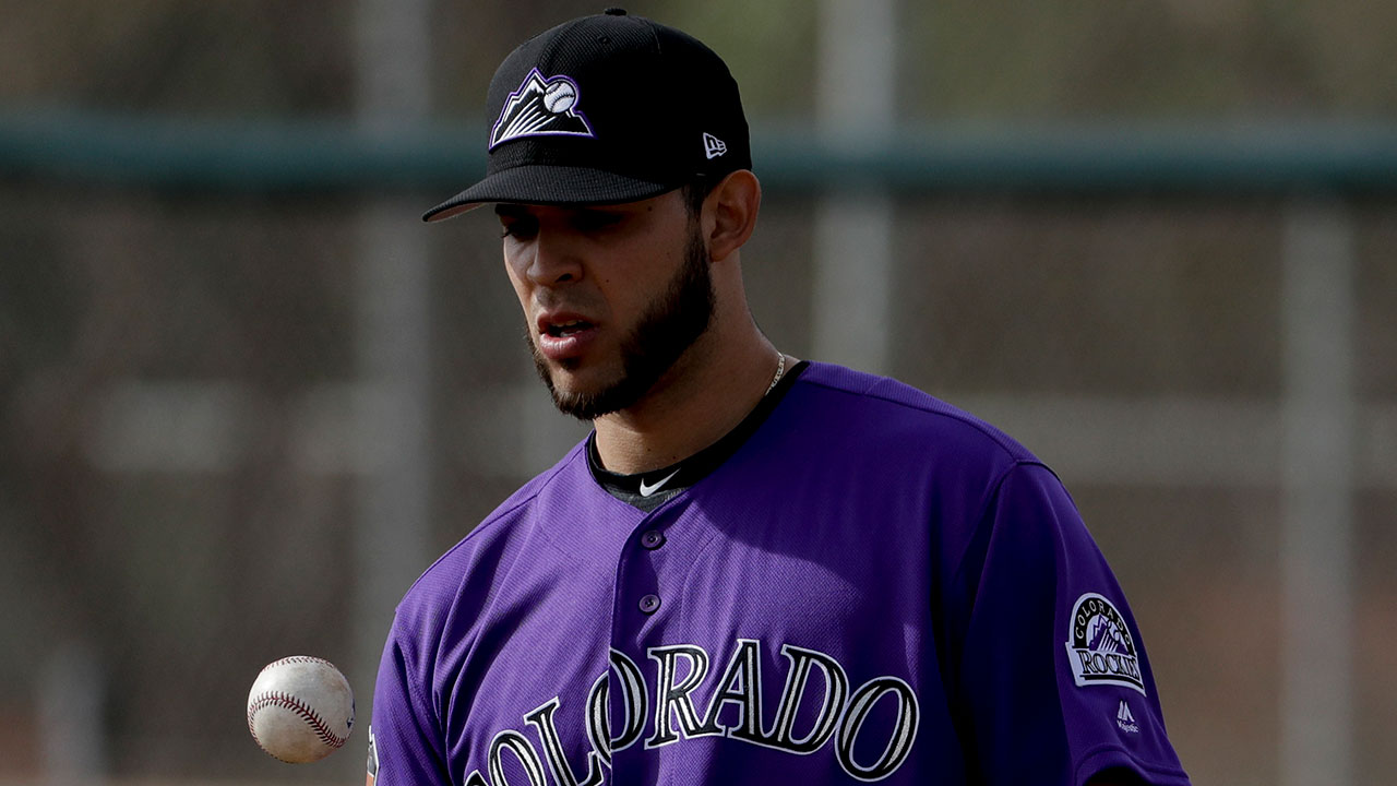 Rockies pitching prospect Gonzalez on his way