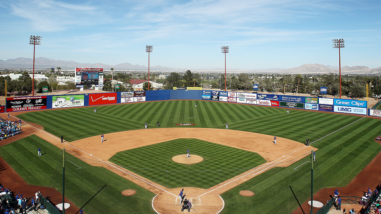 Cubs, A's to play Spring Training games in Las Vegas