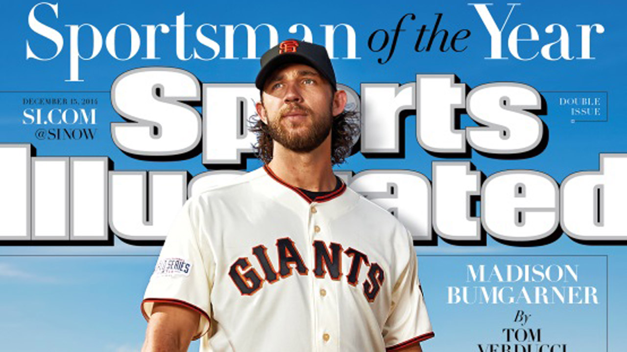 Bumgarner, Deportista del Año de Sports Illustrated
