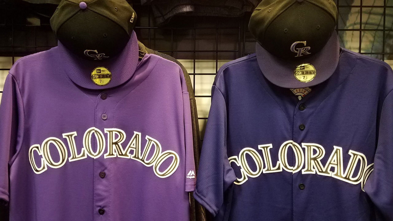 Rockies outfitted with one shade of purple