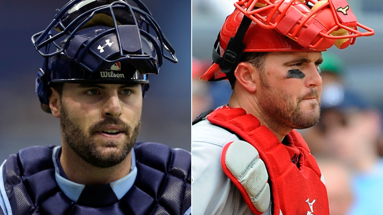 Rays' Casali, Wilson form bond while fighting for job