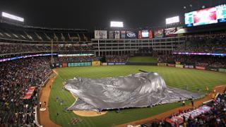 Rain brings Angels-Rangers action to a halt