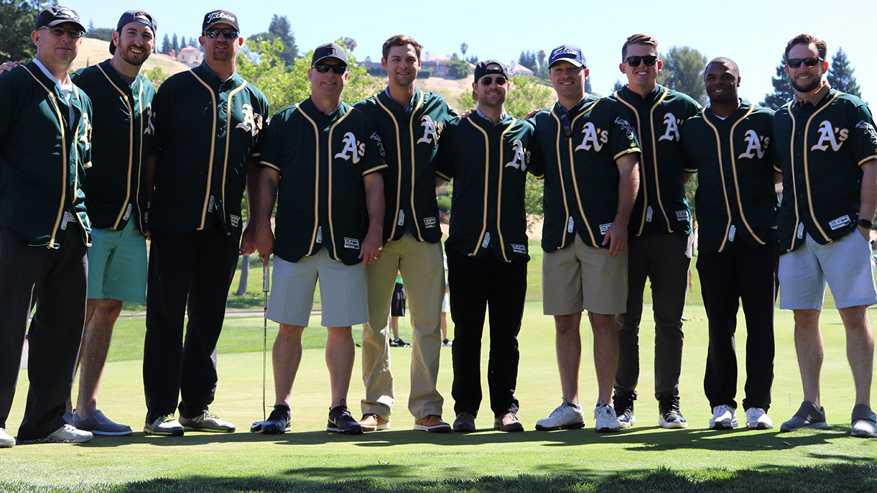 Players hit the links for annual charity event