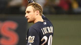 Lucroy sets season mark for doubles as catcher