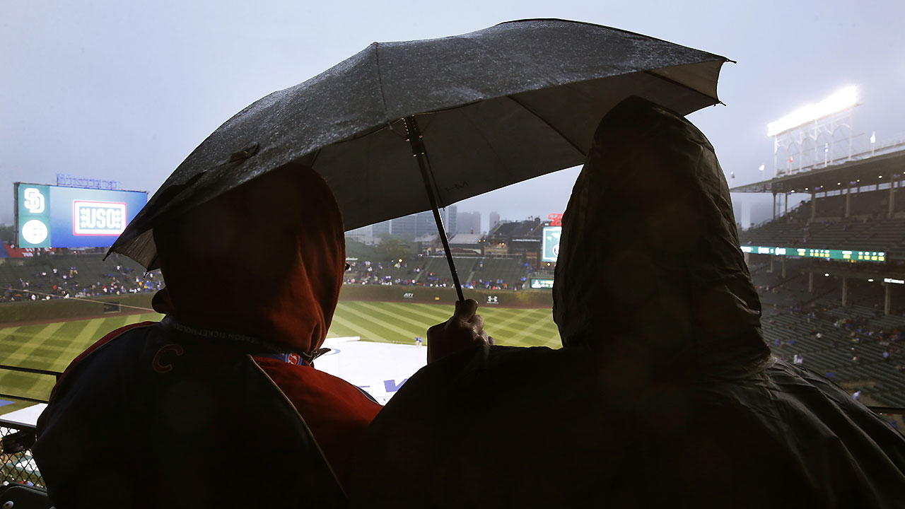 Opener vs. Cubs postponed; twin bill Wed.