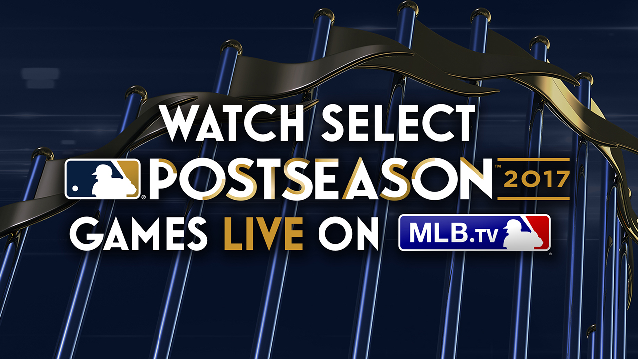 MLB.TV Postseason Package available now