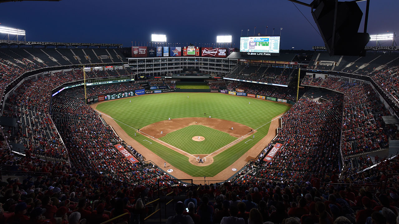 Rangers to install LED lighting at Globe Life