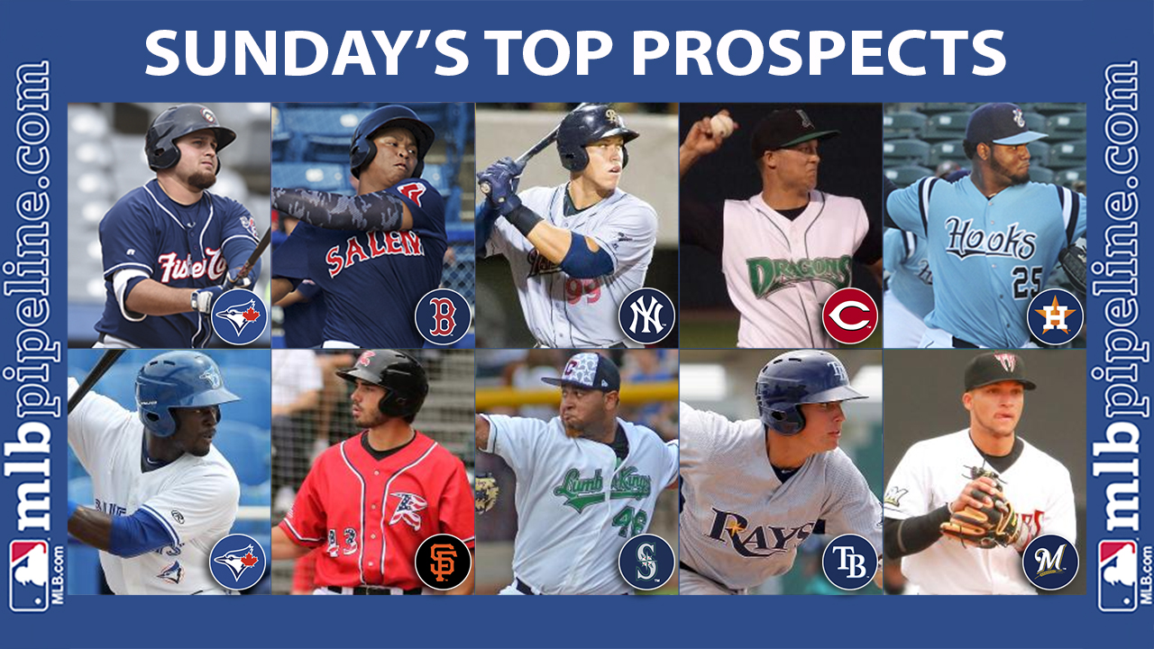 Tellez, Judge among top prospect performers Sunday