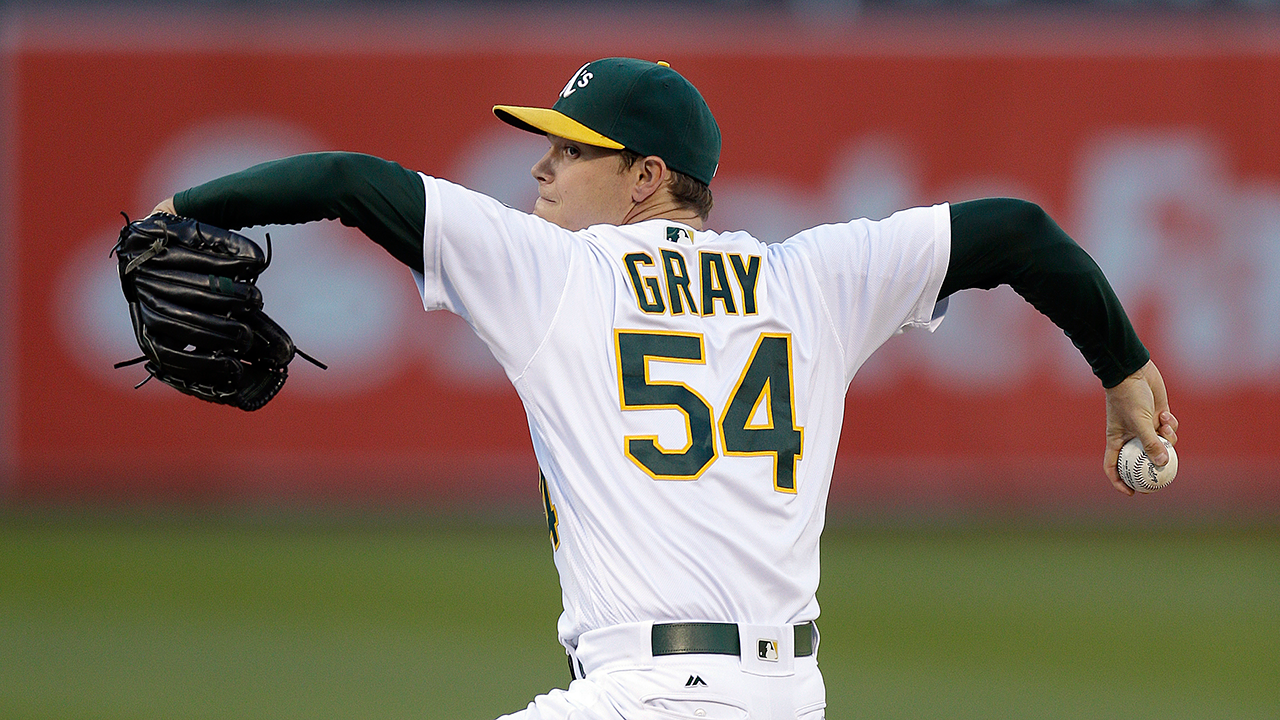 Gray progressing, hopes to pitch this season