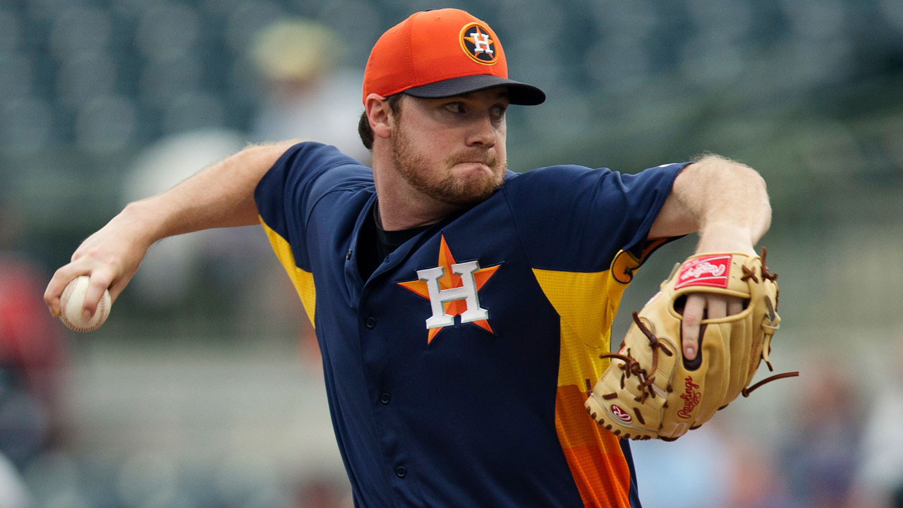 Healthy White seeks spot in Astros' rotation