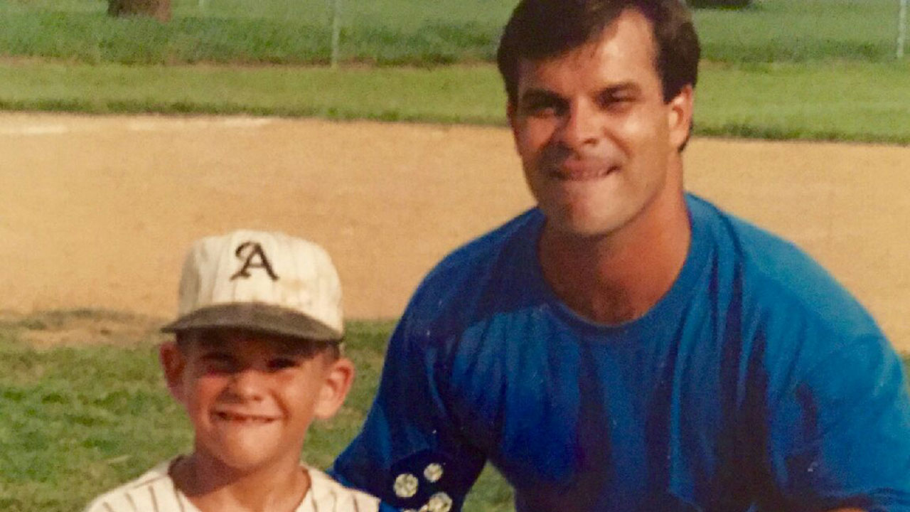 Moreland's work ethic is replica of father's