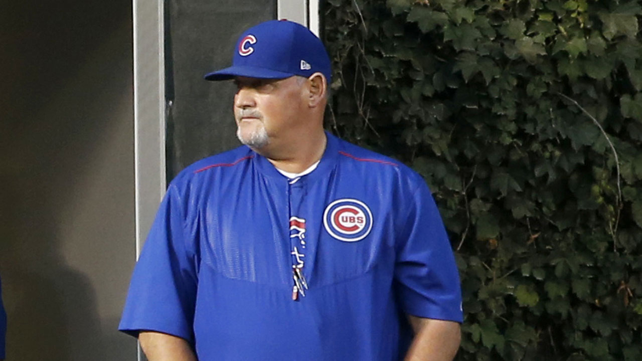 Cubs part ways with pitching coach Bosio