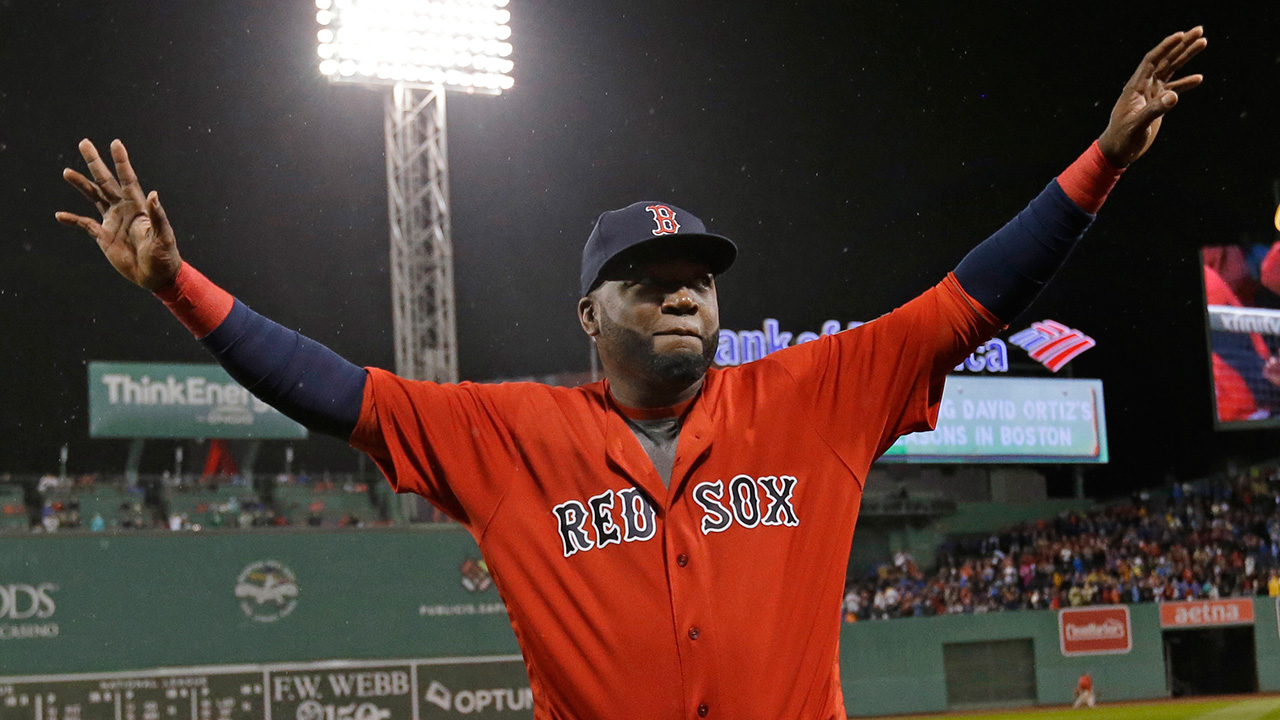 Red Sox to retire David Ortiz's No. 34 in June