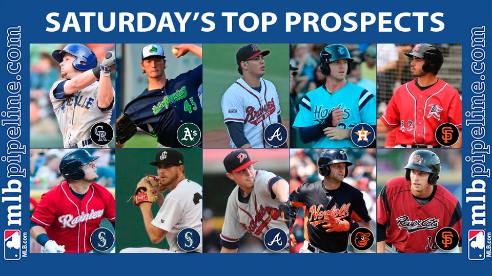 Ruiz, Fisher among top prospect performers Saturday