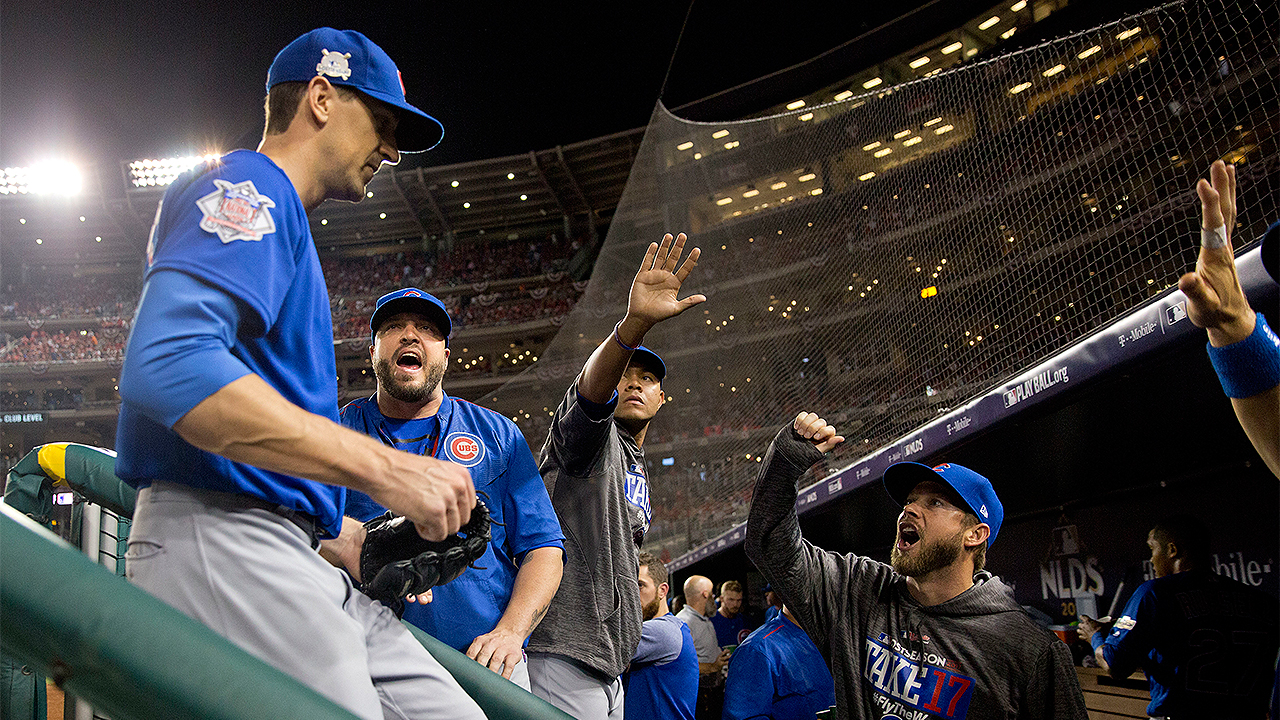 Cubs shut out Nationals in Game 1 of NLDS