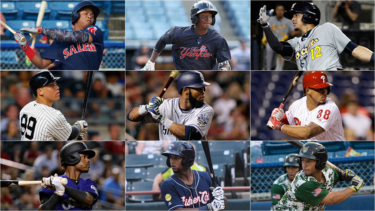 Top 30 prospects playing in winter leagues